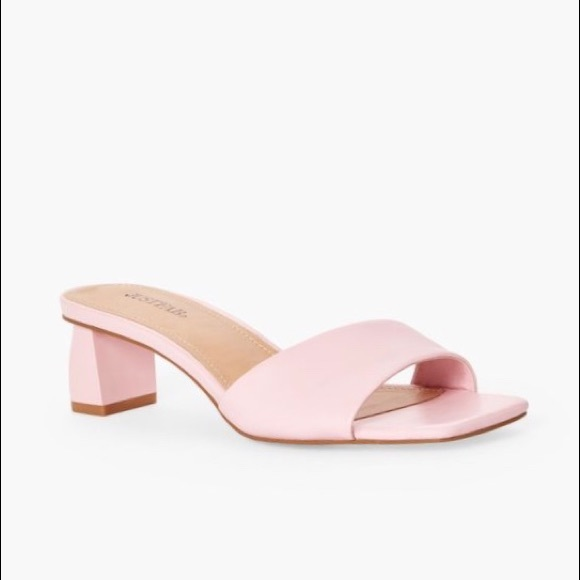 Just Fab | Corisande Slip On Mules Pink Size 8 NWT